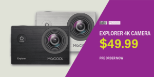 MGCOOL Explorer 4K Action Camera Launched for $49.99!