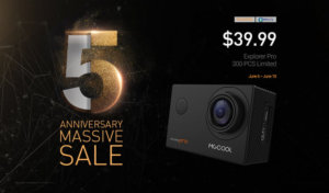 MGCOOL Explorer Pro on Flash Sale for Geekbuying's 5h Anniversary