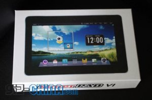 10inch SuperPad Android 4.0 Tablet with GPS