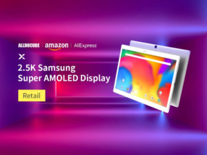 ALLDOCUBE X Tablet with Super AMOLED Display Now on Sale