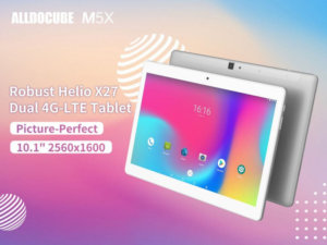 ALLDOCUBE M5X tablet flash sale up for 2 more days