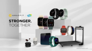 Amazfit showcases new fitness wearables at CES 2021