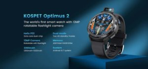 Get the new KOSPET Optimus 2 smartwatch cheaper with our coupon