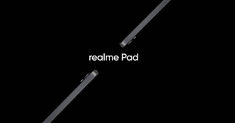 Realme Pad will be presented in the first half of September