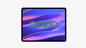 The first tablet from Oppo has appeared in a photo for the first time