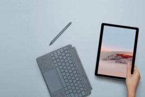 Microsoft Surface Go 3 tablet computer appeared in a Geekbench